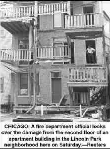 chicago porch collapse
