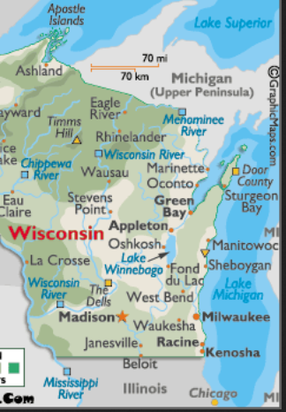 wisconsin  area