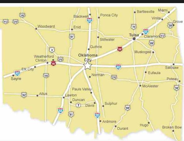 Oklahoma city state